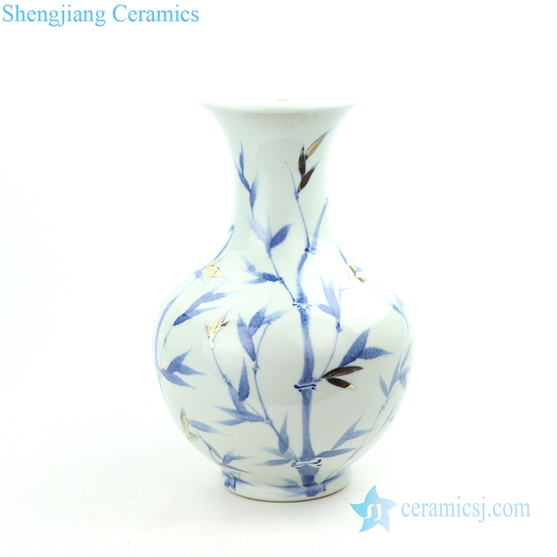 bamboo porcelain lamp body