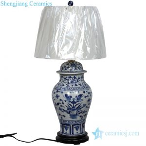 DS-RYUV16 Pure hand made fantastic pattern ceramic lamp