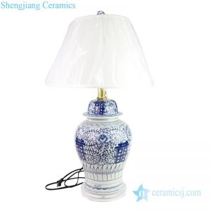 DS-RYWD22 Chinese traditional double happiness design ceramic lighting