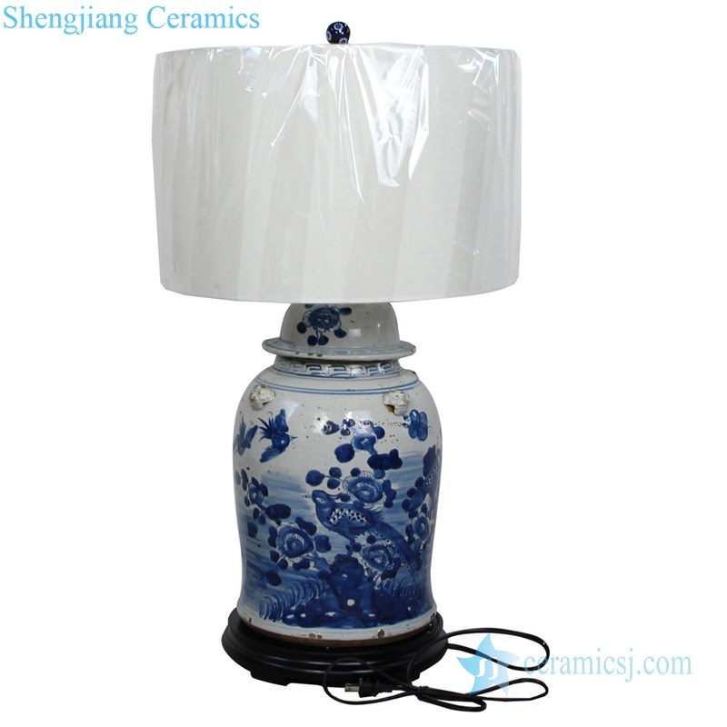 refractory ceramic floor lamp