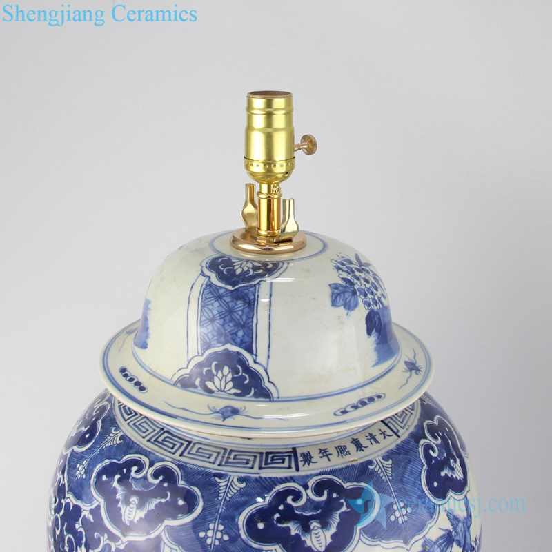 bedroom decorative ceramic lamp
