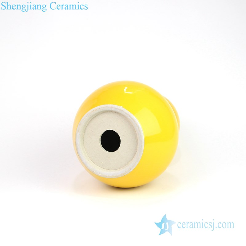 advanced yellow ceramic lamp