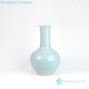 DS-RZMS04 Shengjiang factory light blue vase shape ceramic lamp
