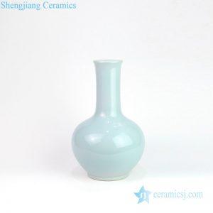 DS-RZMS04 Shengjiang factory light blue vase shape ceramic lamp