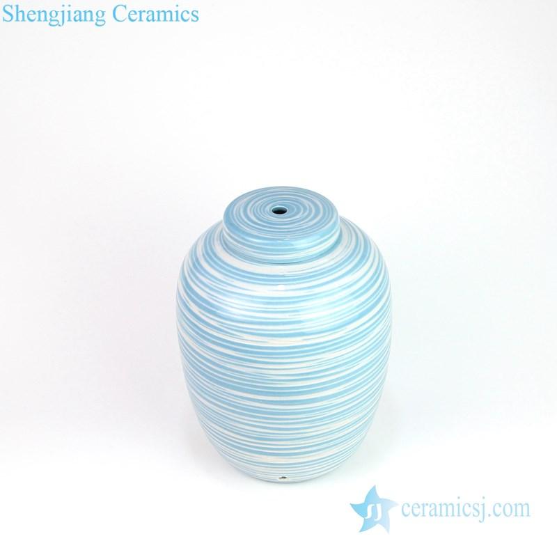 round ceramic lamp
