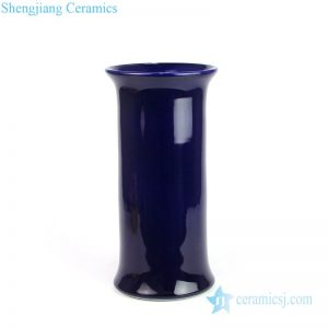 DS-RZMS06 Deep blue elegant shape ceramic decorative lamp