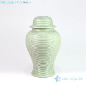 DS-RZMS09 Asian style elegant ginger jar shape ceramic lamp