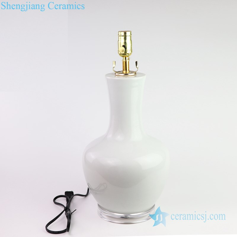 purely manual ceramic lamp