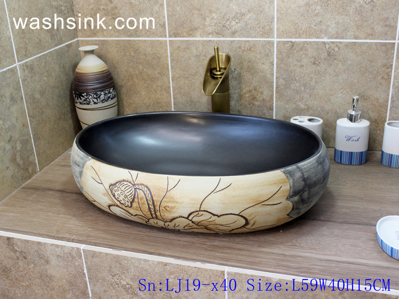 chinese style wash sink