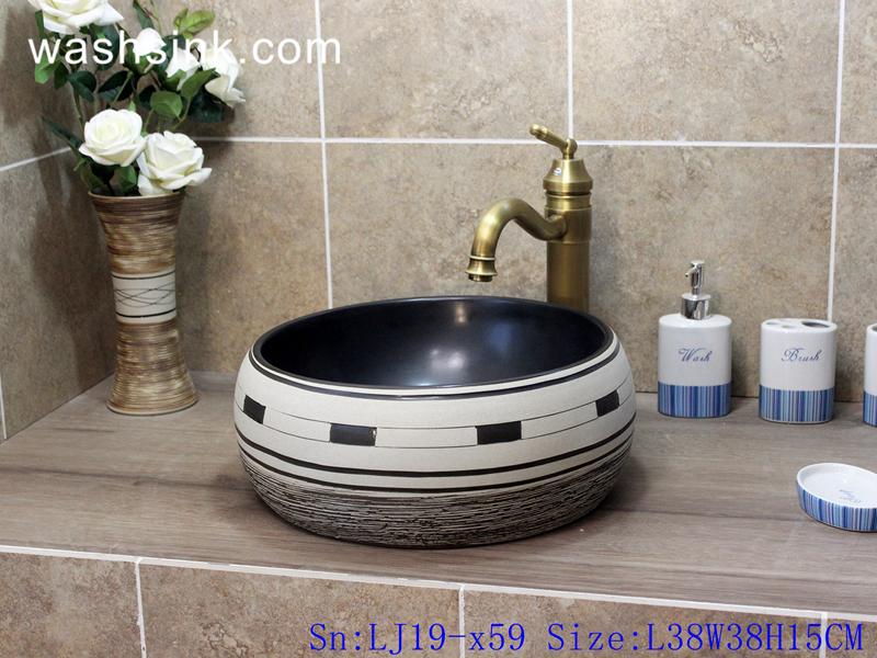 european style lavabo
