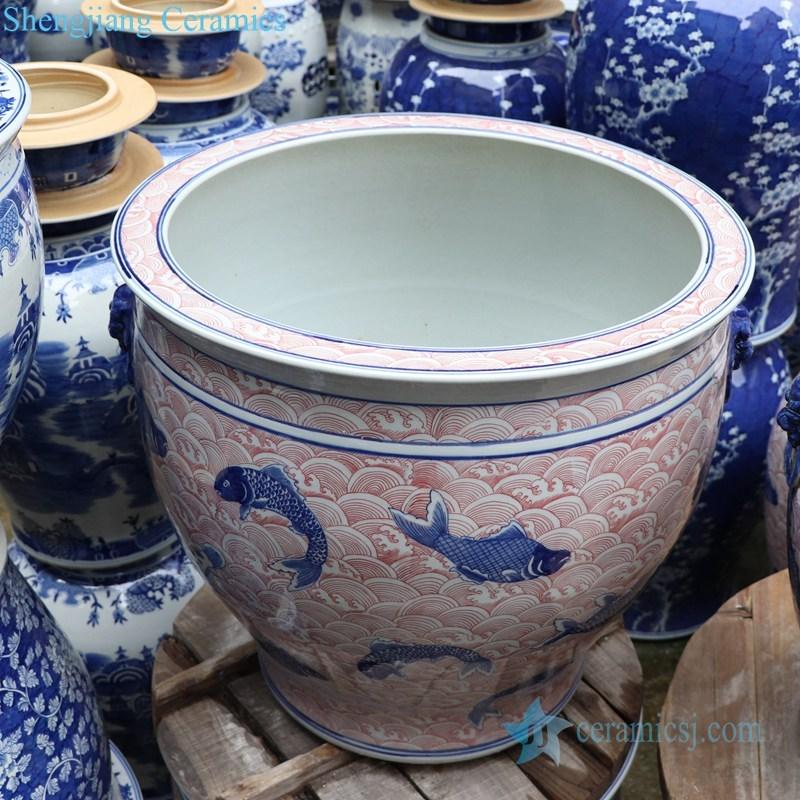 antique refractory ceramic jar