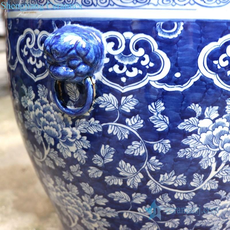 pure hand painted goldfish bowl