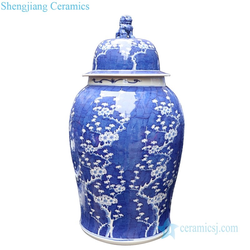 ncient puer hand ceramic jar with lid