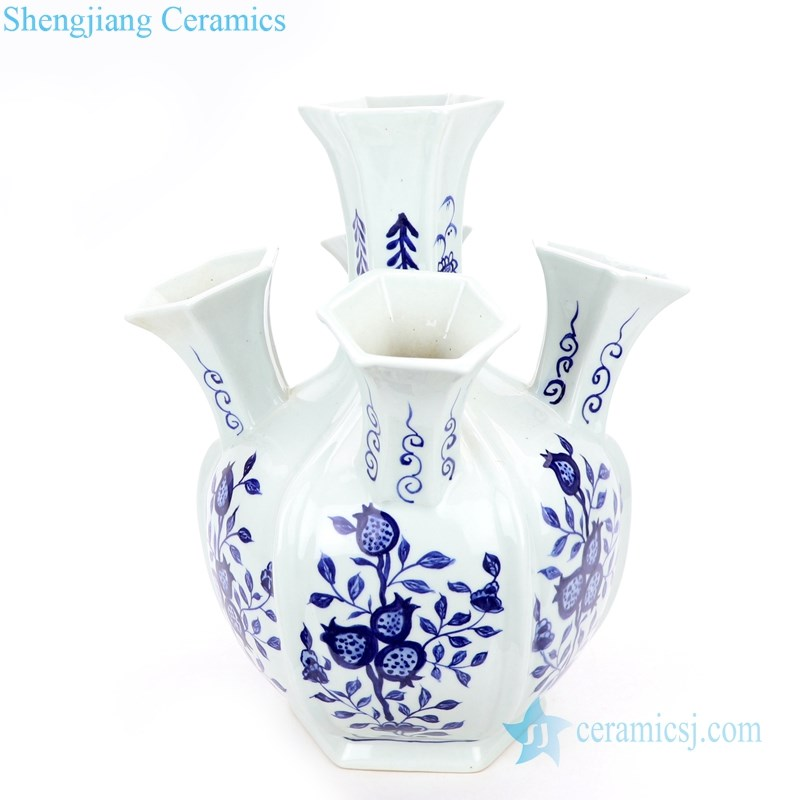 unique shape ceramic vase