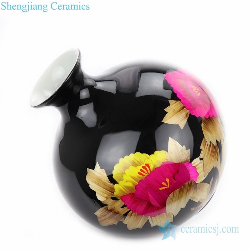 traditional ceramic vase for flowers arrangement
