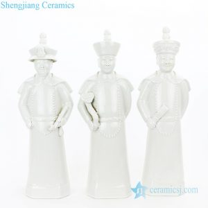 RYXZ17-B Three emperors of the Qing dynasty ceramic decoration