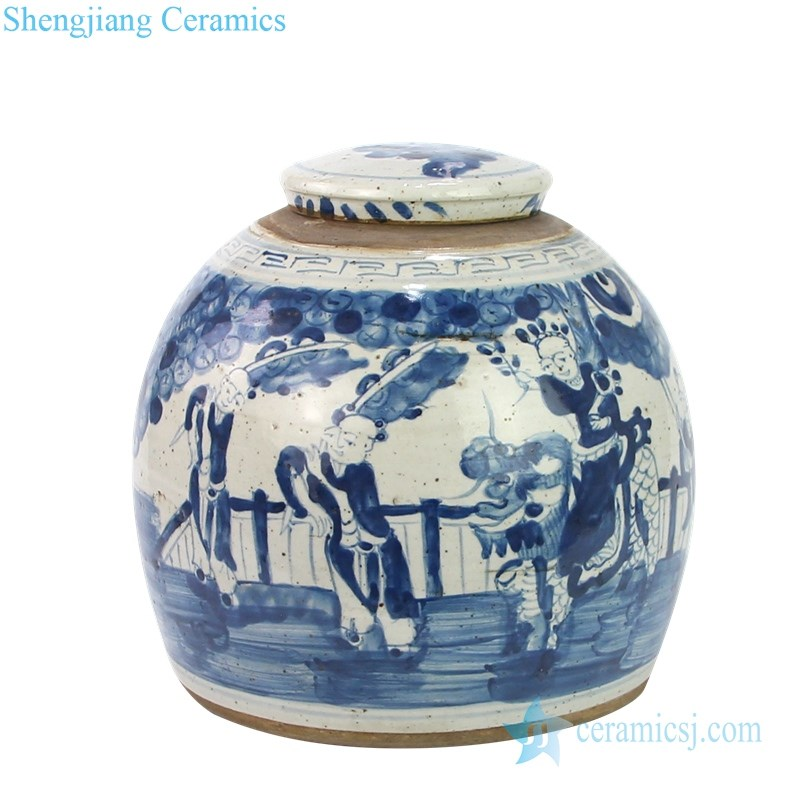 traditional ceramic tea pot with lid