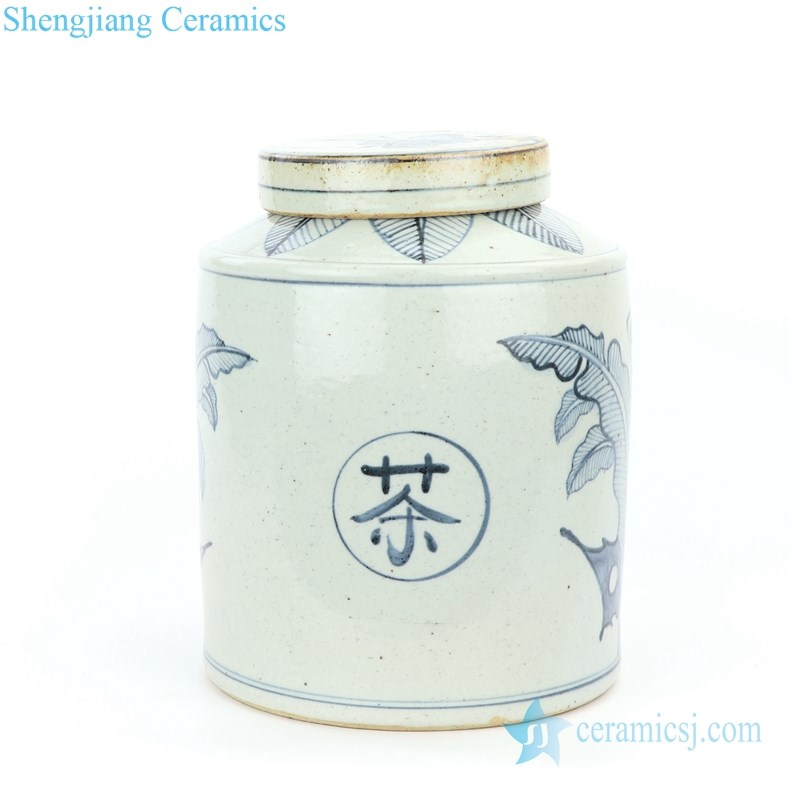 concise style hand painted tea pot