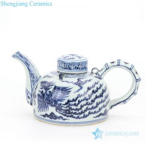 RZHL25 Jingdezhen conventional ceramic with phoenix pattern tea pot