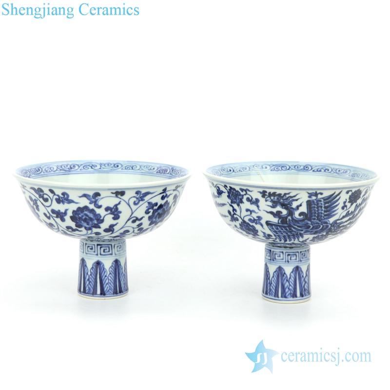 unique shape ceramic bowl