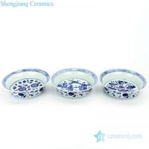 RZHL32-C-D-E Shengjiang delicate ceramic with beautiful design plate