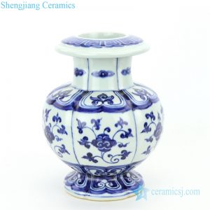 RZHL36 Jingdezhen high quality ceramic with floral design vase