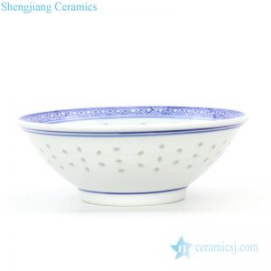 RZKG09 Jingdezhen factory white wholesale ceramic bowl