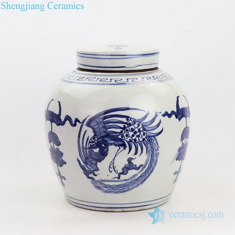 hinese ancient times ceramic tea jar