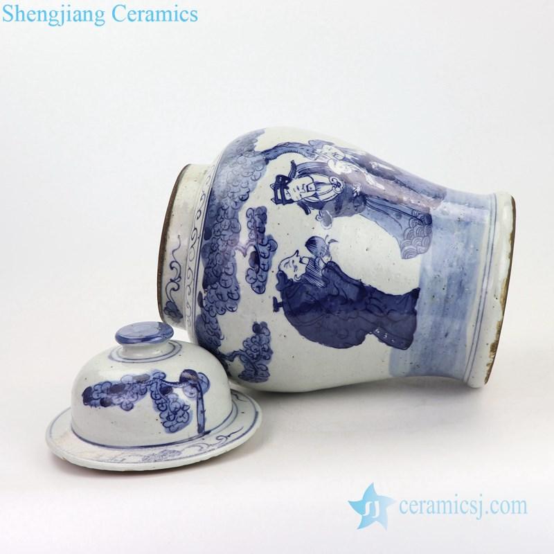 mascot design ceramic ginger jar