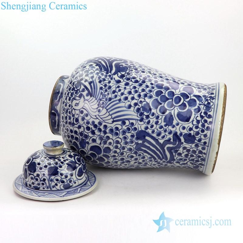 never fade ceramic ginger jar
