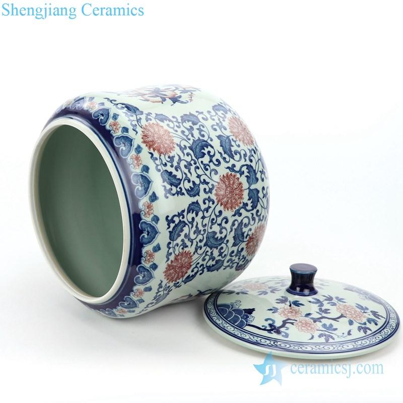 chinese style ceramic jar