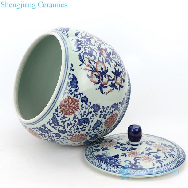 special pattern tea jar