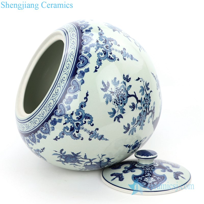 wholesale ceramic tea jar