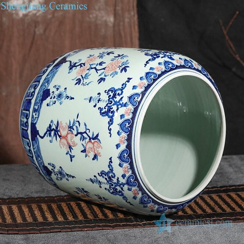 mix color ceramic tea jar
