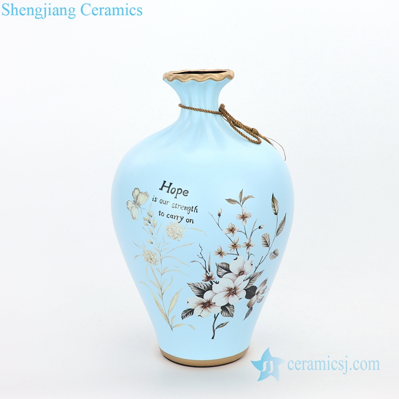 valuable home embellishment ceramic vase
