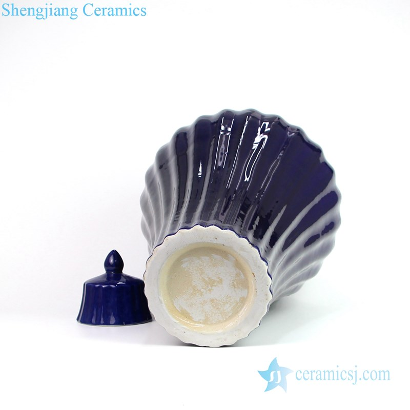 special shape ceramic jar with lid