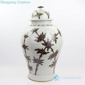 RZOX04 Shengjiang potichestyle ceramicwith bamboo patternjars