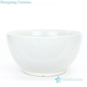 RZPI02-A Jingdezhen traditional style big white porcelain fish bowl