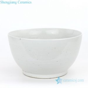 RZPI02-B Jingdezhen factory small plain color porcelain fish bowl