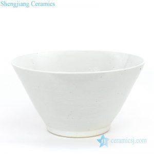RZPI03 Antique ceramic with bamboo hat shape bowl