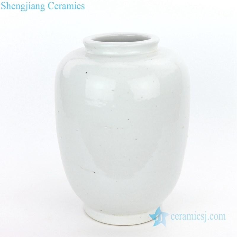 traditional plain color ceramic jar