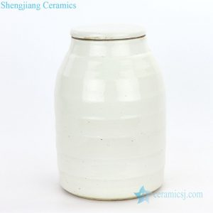 RZPI06-B Chinese conventional small refractory ceramic tea jar