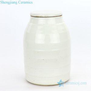 RZPI06-B Chinese conventional small refractory ceramic tea jar