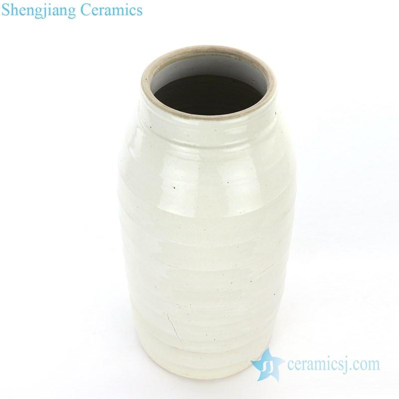 big plain color tea jar