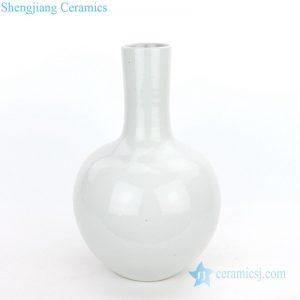 RZPI08 Archaistic refractory monochrome glazed globularvase