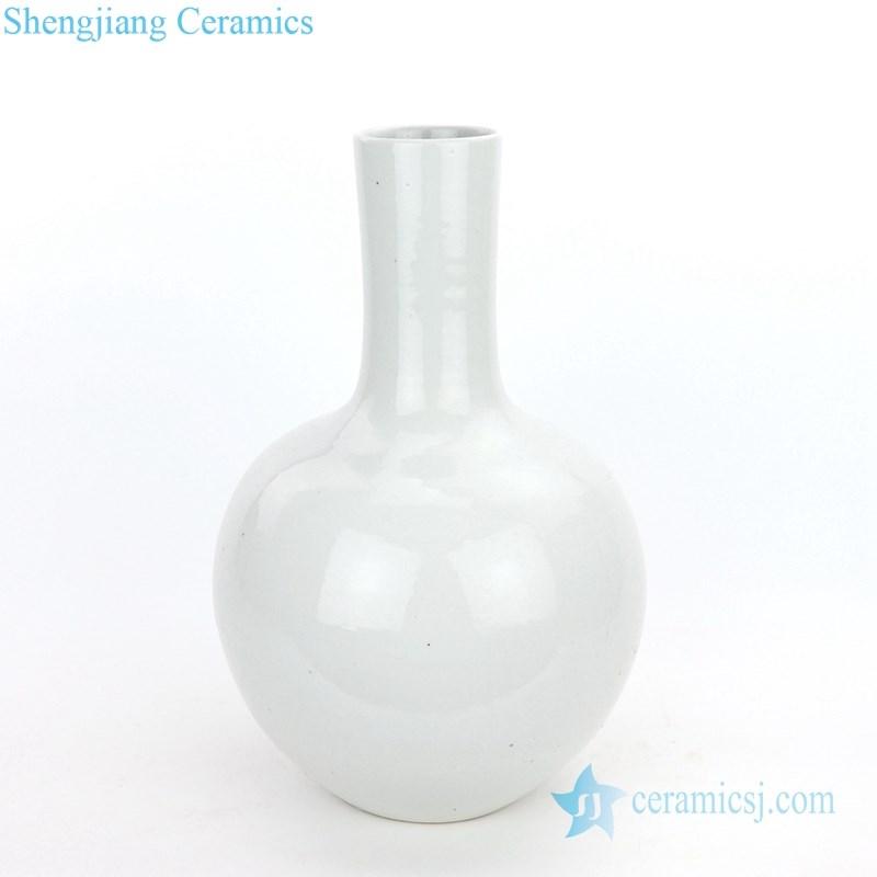 antique globular vase with monochrome glaze