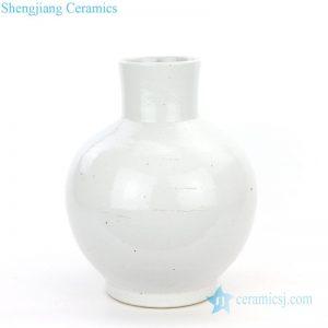 RZPI10 Jingdezhen antique monochrome ceramic globular vase