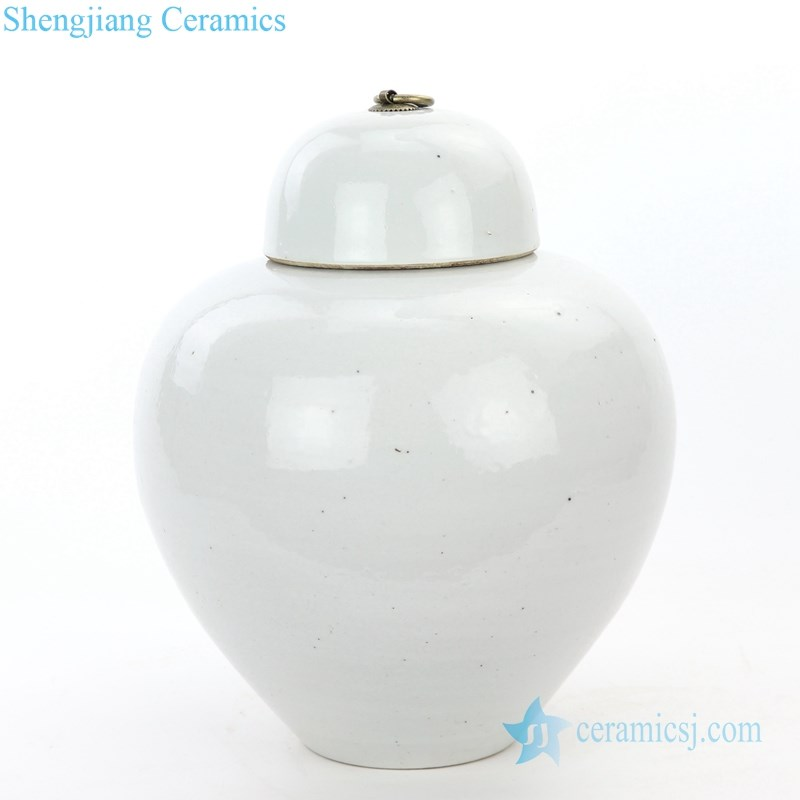 ancient small covered storage jar