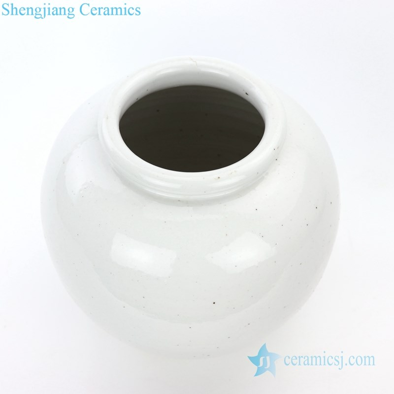 hand craft plain color storage jar
