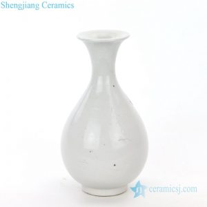RZPI30 Hand craft monochrome display ceramic vase